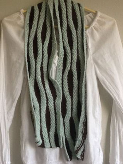 Short Row Ripple Scarf