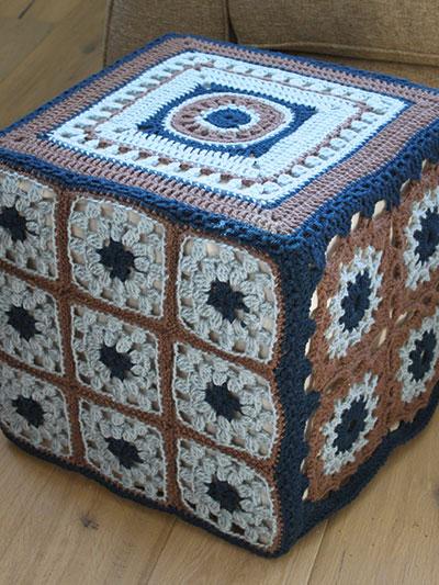 Motif Ottoman Cover