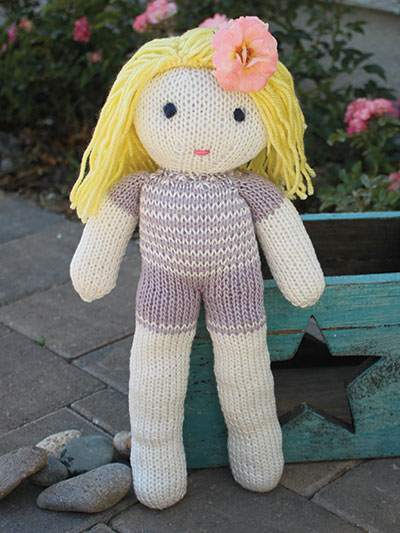 Free Pattern] Easy Rag Doll Scarf With A Fun Design - Knit And ... | 533x400