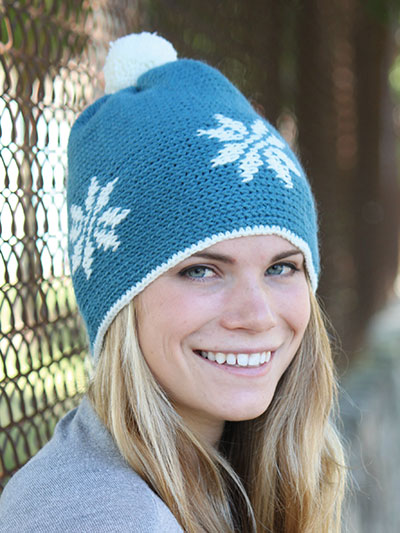 Linetta Crochet Hat