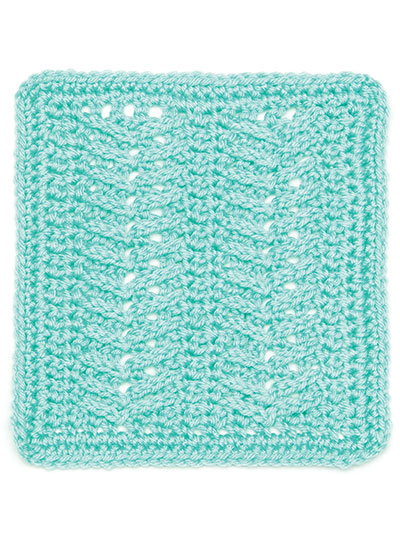 Crochet Fishbone Stitch