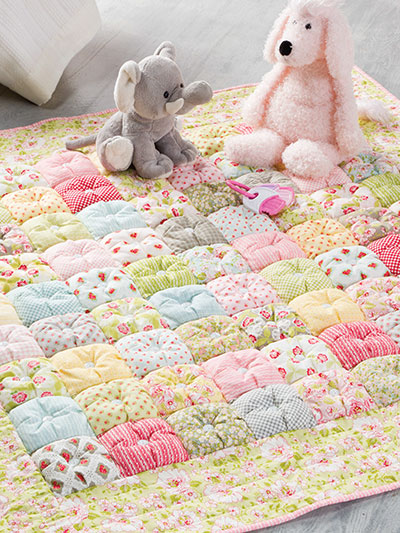 Quick & Easy Puff Baby Quilt
