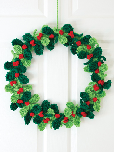 Berry Nice Knit Wreath