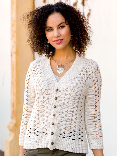 Crocus Lace Cardigan