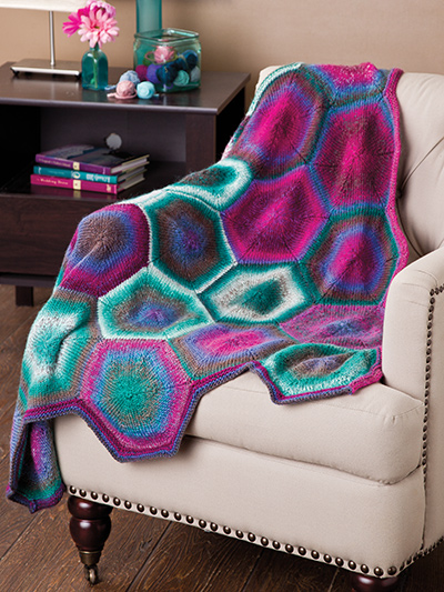 Hexagon Afghan