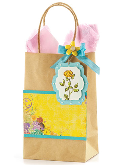 Glorious Rose Gift Tag