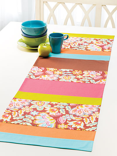Floral Fiesta Table Runner