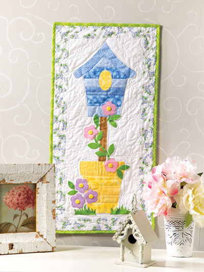 Birdhouse Quilted Skinny