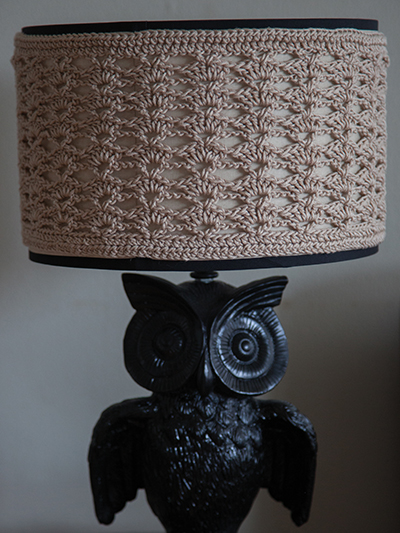 Shell Stitch Lampshade Cover