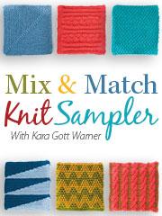 Mix & Match Knit Sampler