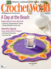 Crochet World June 2013