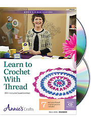 Learn to Crochet With Thread Class DVD