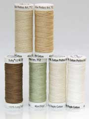 Sulky� Cotton Petites Neutral, 12 wt. - 6/pkg.