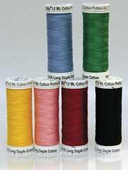 Sulky� Cotton Petites Most Popular Solid Colors, 12 wt. - 6/pkg.