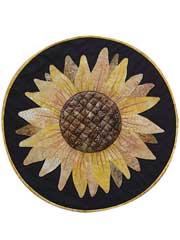 Sunflower Table Topper Pattern