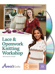 Lace & Openwork Knitting Class DVD
