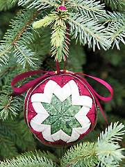 Heirloom Ball No-Sew Ornament Pattern