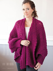 Cozy Cuffed Cape Crochet Pattern Pack