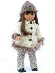 Dolly, It's Cold Outside Crochet Pattern