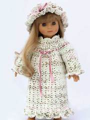 Pioneer Doll Nightgown