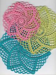 Easy Summertime Doilies Pattern Pack