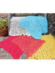 Super Simple Dishcloths Crochet Pattern