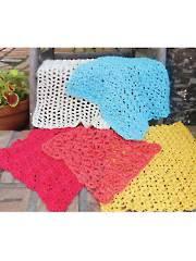 Super Simple Dishcloths Crochet Pattern