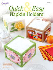 Quick & Easy Napkin Holders in Plastic Canvas