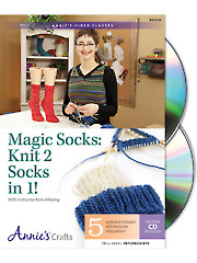 Magic Socks: Knit 2 Socks in 1 Class DVD