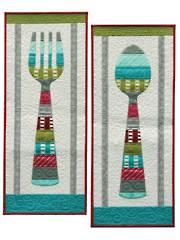 Bon Appetit Wall Hanging Pattern