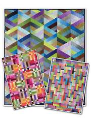 Strip It Three Ways Quilt Pattern