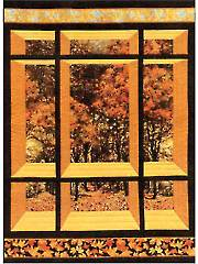 Window on the East Quilt Pattern
