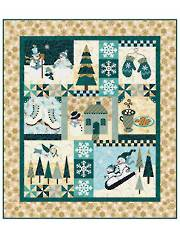 Blessings of Winter Laser-Cut Quilt Kit