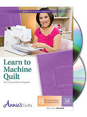 Learn to Machine Quilt Class DVD
