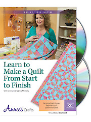 Learn to Make a Quilt From Start to Finish Class DVD