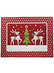 Reindeer Holiday Wall Hanging Pattern