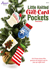 Little Knitted Gift-Card Pockets