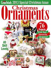Just CrossStitch Ornaments 2013