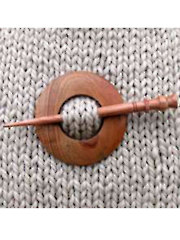 Circle Shawl Pin