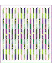 Candy Ribbons Quilt Pattern