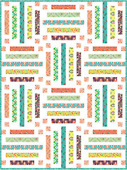 Color Me Crayons Quilt Pattern