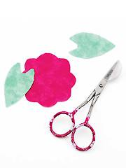 Applique Embroidery Pelican Scissors