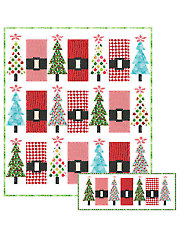 Santa's Jingle Belly Quilt Pattern