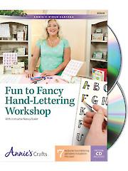 Fun to Fancy Hand-Lettering Workshop Class DVD