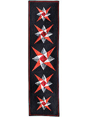 Five-Star Table Runner Pattern