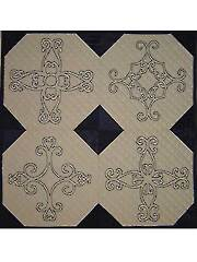 Ironwork Crosses Embroidery Pattern