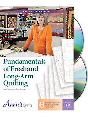 Fundamentals of Freehand Long-Arm Quilting Class DVD