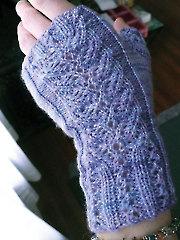 Delicato Fingerless Gloves Knit Pattern