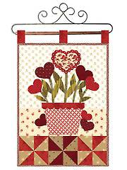 February Wall Hanging Quilt Pattern