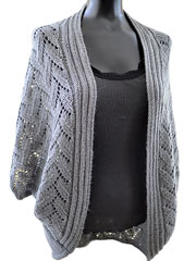 Calida Luxe Cocoon Cardigan Knit Pattern